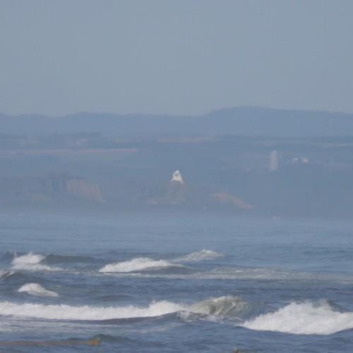 2014 09:21 斜里漁港よりフレトイ展望台