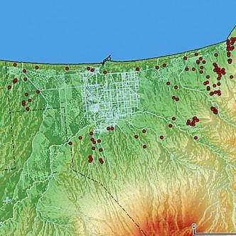 縄文中期遺跡マップsq