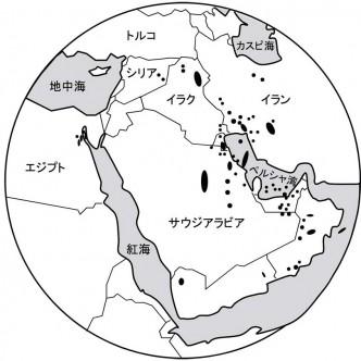 中東地域の油田